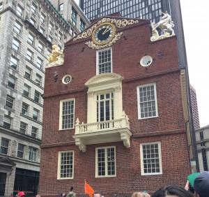 The British Parliament House in Boston