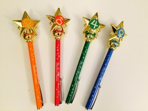 The R transformations wands, Venus, Mars, Jupiter and Mercury