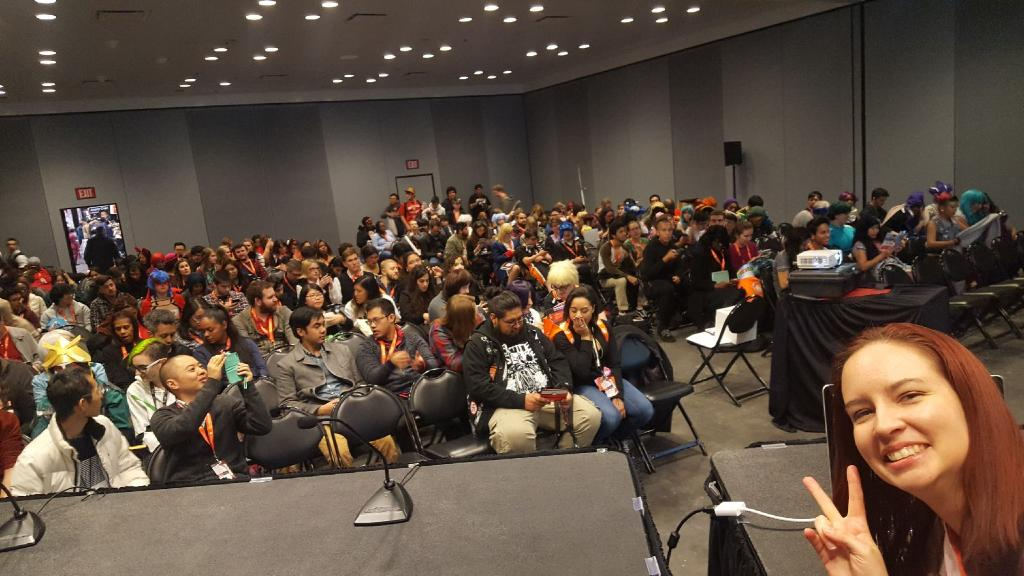 panel crowd at japanese feminism 101