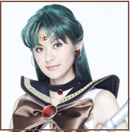 Headshot of Mikako Ishii as Sailor Pluto In La Petite Etrangere