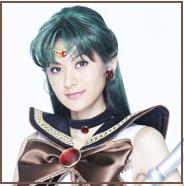 Headshot of Mikako Ishii as Sailor Pluto In La Petite Etrangere