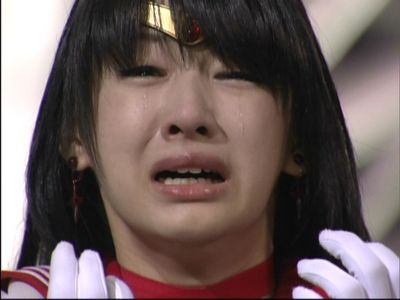 PGSM Sailor Mars cries