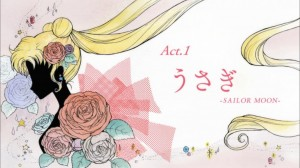 Title Card of Sailor Moon Crystal, Act 1