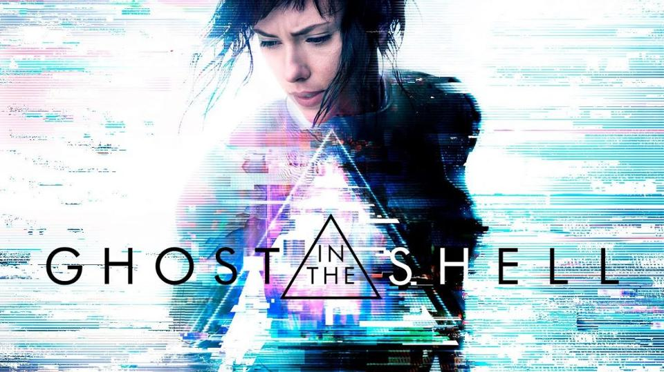 The Ghost in the Shell live action poster with Scarlett Johansson