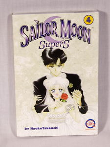 Prince Endymion and Princess Serenity grace the cover of SuperS volume 4
